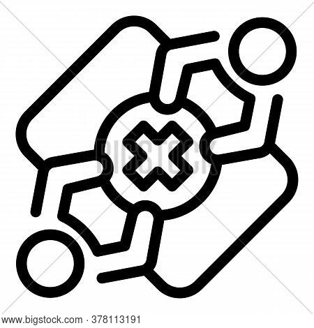 Sport Medical Consultation Icon. Outline Sport Medical Consultation Vector Icon For Web Design Isola