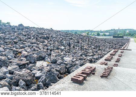 Belzec, Poland - June 12, 2020: Belzec Nazi German Extermination Camp(official Name Ss-sonderkommand