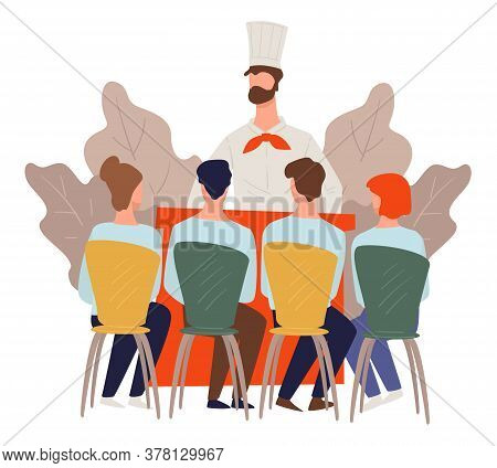 Culinary Classes Or Course, Tv Show Masterclass Vector