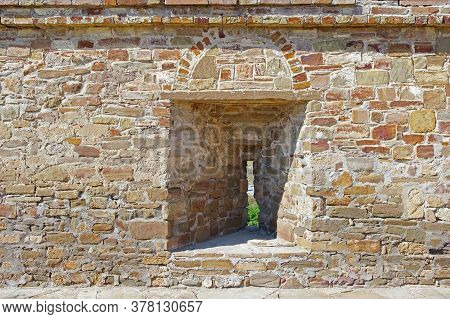 An Embrasure In The Old Fortress Wall