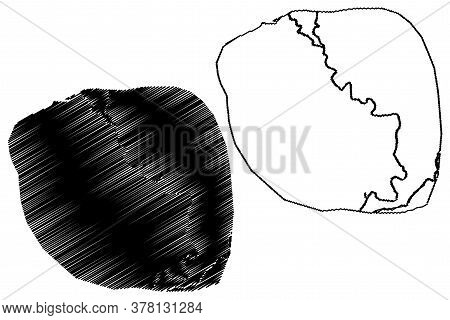 Mardan City (islamic Republic Of Pakistan, Khyber Pakhtunkhwa Province) Map Vector Illustration, Scr
