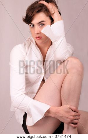 Woman In Recession