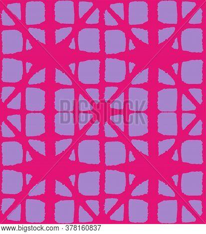 Japanese Tie Dye Seamless Pattern. Vintage Shibori Seamless Pattern. Premium Japanese Clothes Patter
