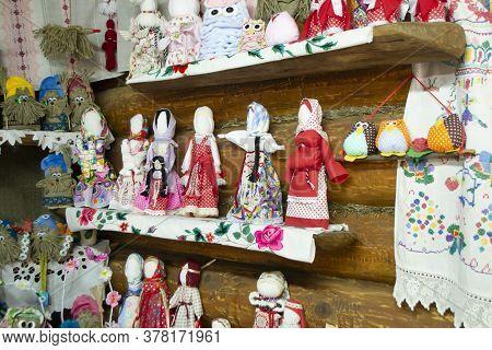 Doll Folk Collection, Handmade Motanka Doll. Belarus Traditional