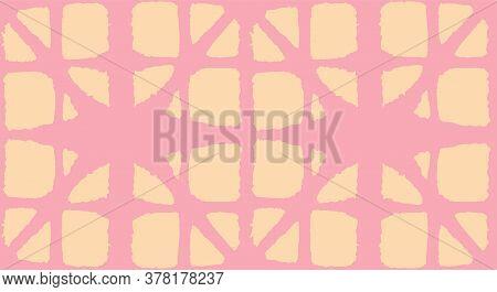 Japanese Tie Dye Seamless Pattern. Rich Vip Japanese Clothes Pattern. Bohemian Kimono Textile. Deco