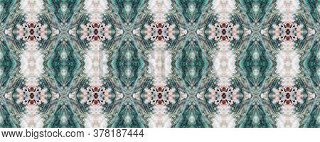 Snake Print. Snakeskin Seamless Pattern. Piton Skin Ornament. Geometric Animal Texture. Watercolor S