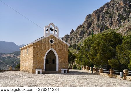 La Virgen Del Buen Suceso Sanctuary In Cieza In Murcia Region, Spain.