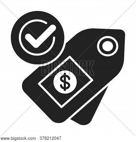 Fair Price Or Trade Black Line Icon. Minimum Price Paid For Certain Products Imported From Developin