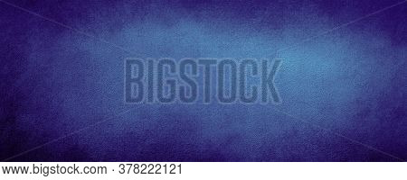 Abstract Navy Blue Color Wall Background With Scratched,  Modern Background Concrete With Rough Text