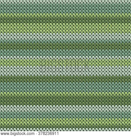Cashmere Horizontal Stripes Knitting Texture Geometric Seamless Pattern. Blanket Knitting Pattern Im