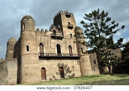 Royal ethiopian castle