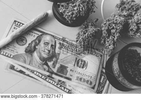 Sativa Thc Cbd. Money Weed. Joint Weed. Marijuana Weed Bud And Grinder. Indica Medical Health.