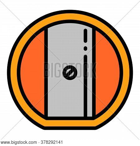 Kid Sharpener Icon. Outline Kid Sharpener Vector Icon For Web Design Isolated On White Background