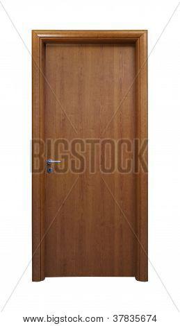 Brown Simple Door