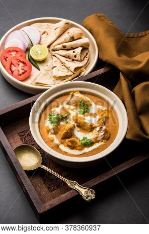 Traditional Indian Butter Chicken Or Murg Makhanwala Which Is A Creamy Main Course Curry Recipe