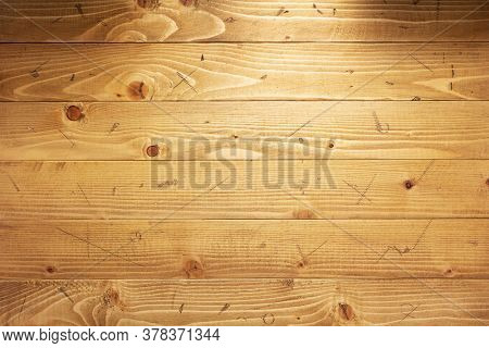 old wooden plank board background, table or floor texture surface