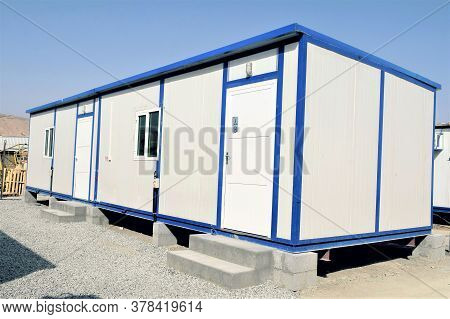 Portable House And Office Cabins. Labour Camp. Porta Cabin. Small Temporary Houses