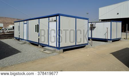 Portable House And Office Cabins. Labour Camp. Porta Cabin. Small Temporary Houses : Muscat, Oman :