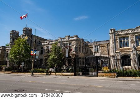 Ottawa, Ontario, Canada - 7/7/2020: The Royal Canadian Mint On Sussex Drive In Ottawa.