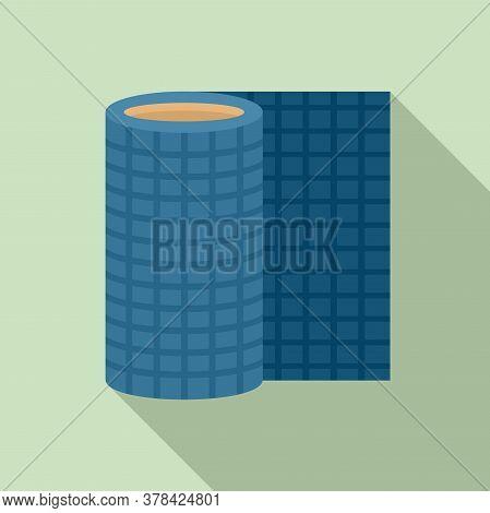 Floor Linoleum Icon. Flat Illustration Of Floor Linoleum Vector Icon For Web Design