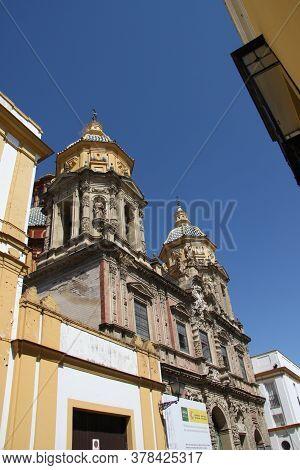 Seville, Spain - July 14, 2011:church Of San Luis De Los Frances In The Center Of Seville