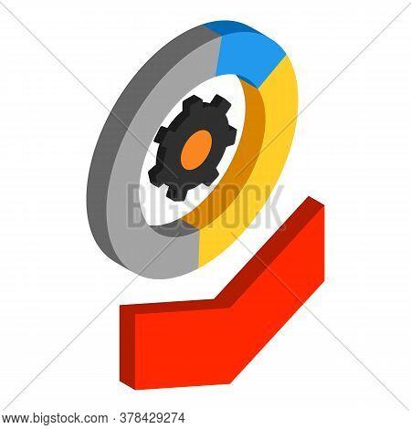 Technical Optimization Icon. Isometric Illustration Of Technical Optimization Vector Icon For Web