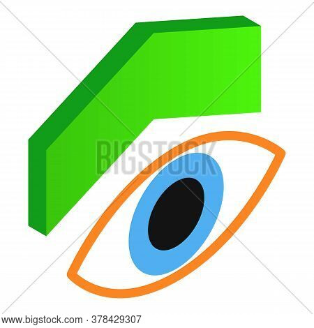Seo Monitoring Icon. Isometric Illustration Of Seo Monitoring Vector Icon For Web