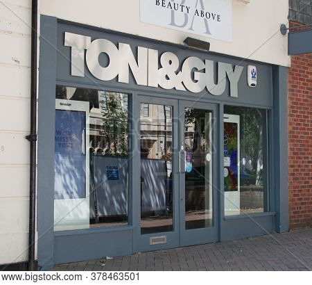 The Toni And Guy Hair Salon In Banbury In The Uk, Taken On The 26th June 2020