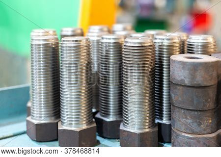 Turned Bolts And Blanks For Turning.. Solid Steel Technology Bolt