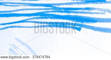 Distress Line Pattern. Strokes White Underline Textile. Background Distress Line Pattern. Modern Par