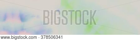 Cloudy Fabric. Colored Watercolour Gradient. Rainbow Pastels Banner. Watercolour Gentle Style. Water