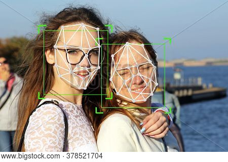 Machine Learning Systems Technology , Accurate Facial Recognition Biometric Technology And Artificia