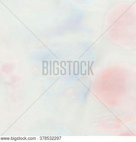 Rainbow Colored Paint. Blured Pastel Splash. Cloudy Tie Dye Paint. Tie Dye Rainbow Pattern. Rainbow