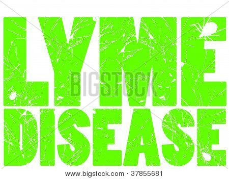 Lyme Disease in green