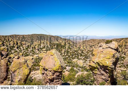 Chiricahua National Monument Features Nearly 12,000 Acres Of Rhyolite Pinnacles, Some Rising Hundred