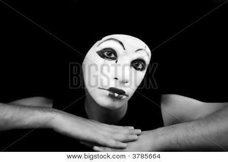 Portrait Of The Mime