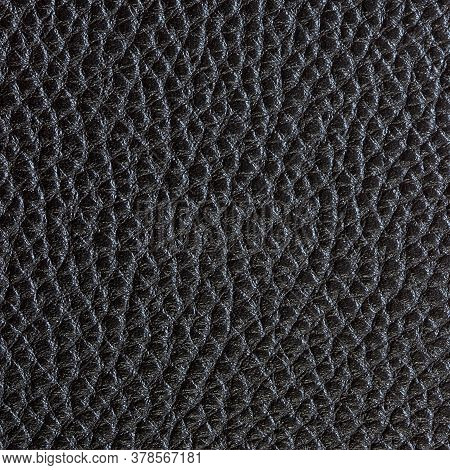 The Black Leather Texture Background, Beautiful Black Leather