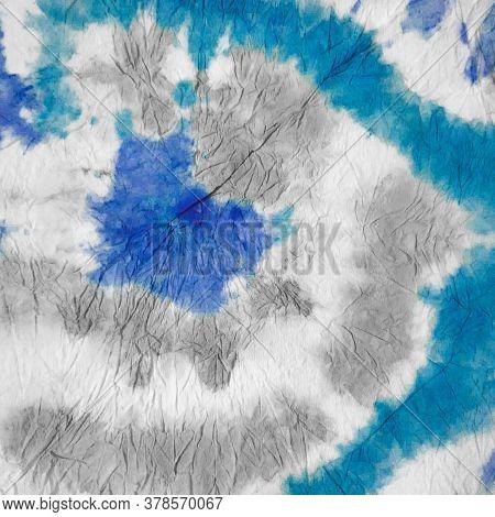 Indigo Dirty Art Gray Texture. Winter Tye Dye Lilac Textile. Indigo Watercolor Wall. Watercolor Vint