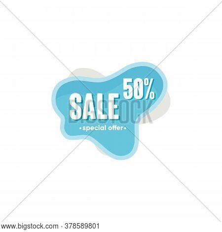 Symbol 50 Percent Discount, Sales Vector Badges For Labels, Percent Sale Label Symbols, Tags, Web St