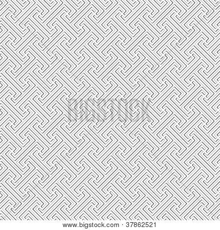 Bali Tribal Pattern - Vector Seamless Texture