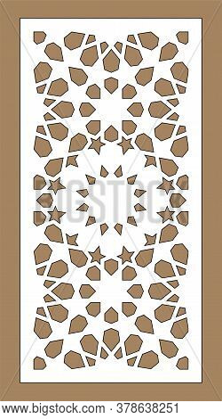 Cnc Decorative Pattern, Jali Design, Interior Element. Islamic , Arabic Laser Cut. Shade Screen, Pri