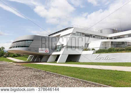 Grenoble, France - June 15, 2019: Inria Office Building. The National Institute For Research In Comp