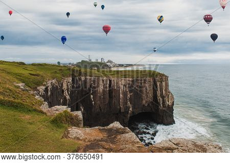 International Balloon Festival, Guarita Park, Is A Brazilian Conservation Unit Located In The Southe