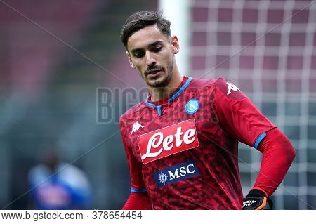 Milano (italy) 28th July 2020. Italian Serie A. Fc Internazionale Vs Ssc Napoli. Alex Meret Of Ssc N