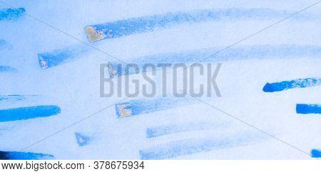 Distress Line Pattern. Brush Sky Grunge Textile. Background Distress Line Pattern. Modern Baby Fun S