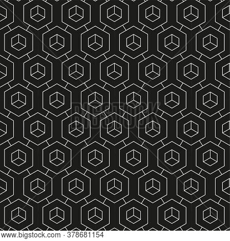 Repetitive Decorative Graphic Technology, Pattern Texture. Continuous Fabric Vector Web Wallpaper Pa