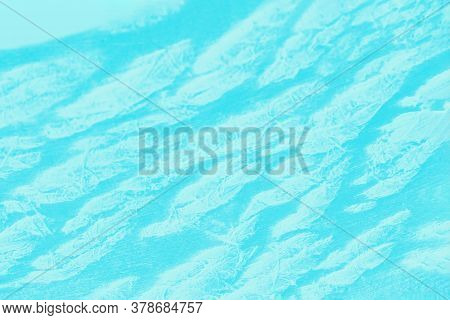 Bright Patchy Aquamarine Background With White Spots