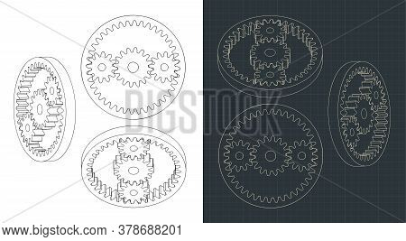 Planetary Gears Drawings
