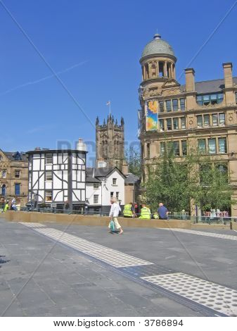Old And New In Manchester