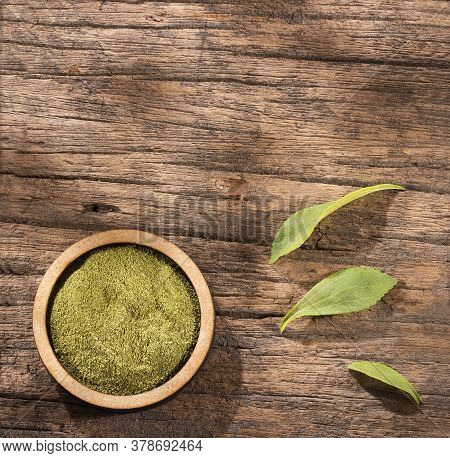 Natural Powdered Sweetener From The Stevia Plant - Stevia Rebaudiana